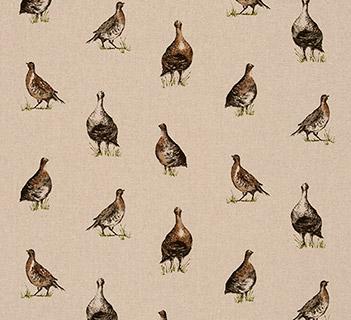 Clarke & Clarke Gamebirds Linen