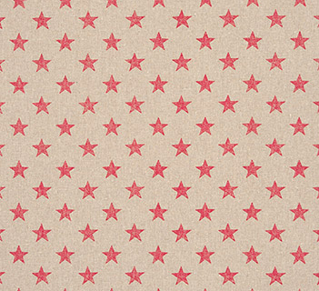 Clarke & Clarke Stars Pink
