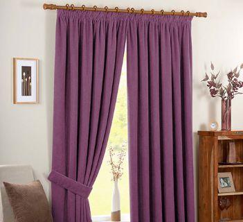 Tissu Casual Natte Violet