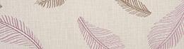 Tissu Origins Plume Parme