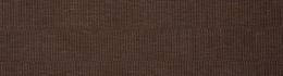 Voile Optik Faux Uni Rectangle Chocolat