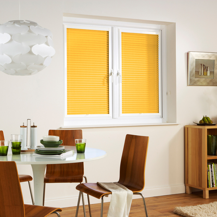 Yellow Window Shades Blinds