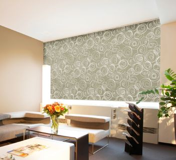 Living Room Roller Blinds Fabric Online