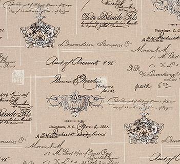Clarke & Clarke Manuscript Linen