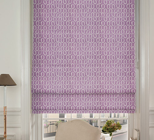 Prestigious Textiles Mode Amethyst Pink Roman Blinds Blinds Direct