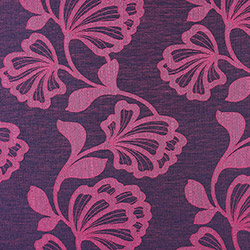 Tissu Orsay Fleur Rose