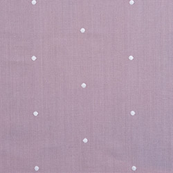 Tissu Timeless Pois Brode Parme