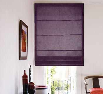 Voile Optik Faux Uni Rectangle Prune
