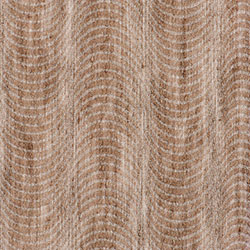 Voile Optik Faux Uni Vague Taupe