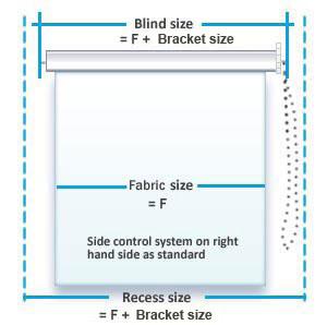 window blind size - Siteze